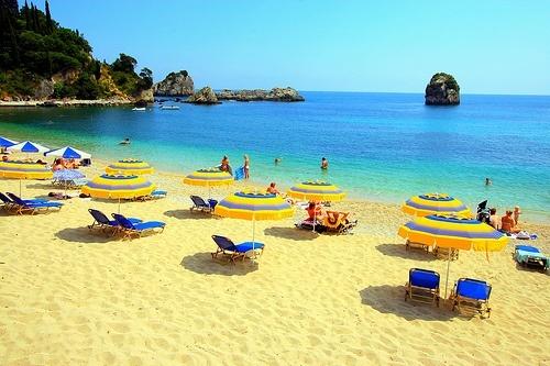 Krioneri Beach, Parga, Greece...