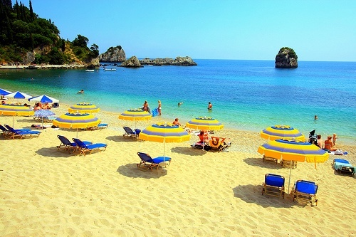 Krioneri Beach, Parga, Greece...