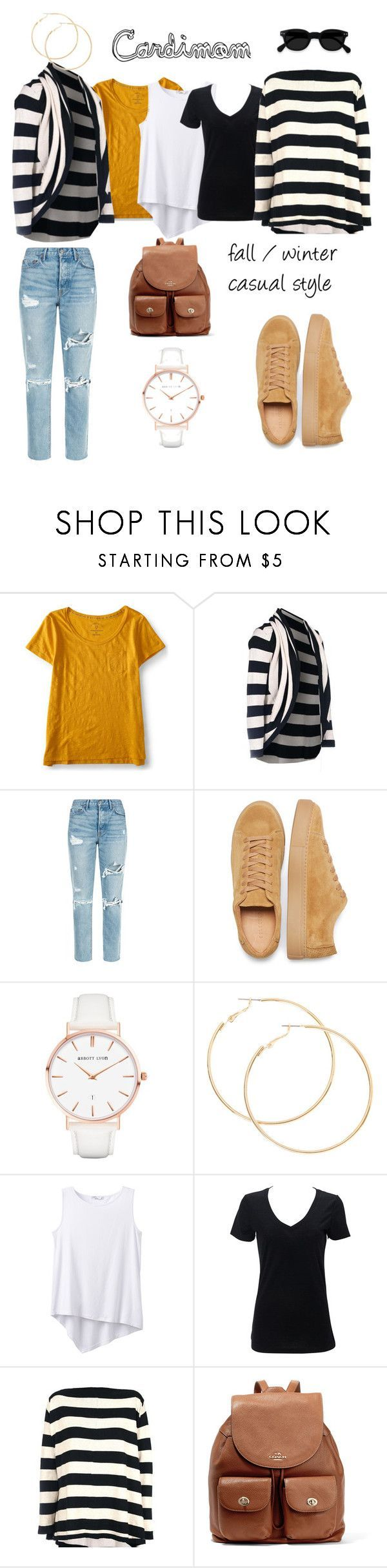"""Cardimom Alcatraz casual combo"" by multiwear on Polyvore featuring the Cardimom alcatraz stripes - top it on any casual ensemble and instantly step up your fashion game - perfect for mom life and all the twists and turns it brings"