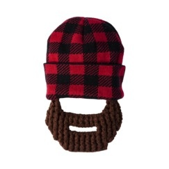 Target  baby Lumberjack beanie w  removable Beard haha  d6fdd6a3b05