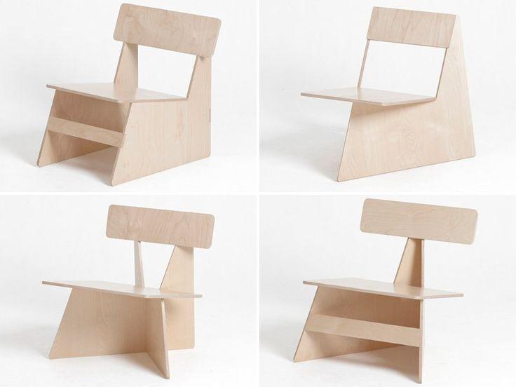 Colección de sillas Four brothers del diseñador Seungji Mun