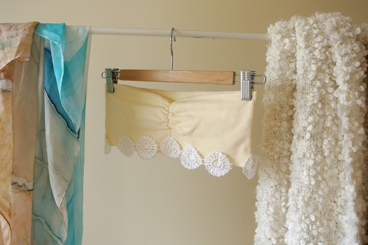 stretchy cotton bandeau bra, spring / summer 2013   19€
