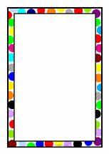 Portrait A4 page borders set (SB5859) - SparkleBox