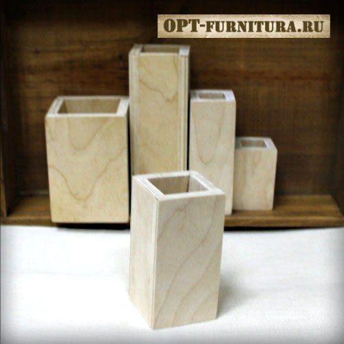 """Заготовка ваза / короб """"Миниатюра"""" 10х5х5 см"""