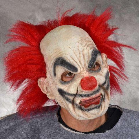 Scary Halloween clown mask