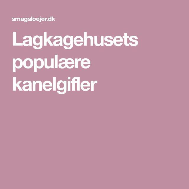 Lagkagehusets populære kanelgifler