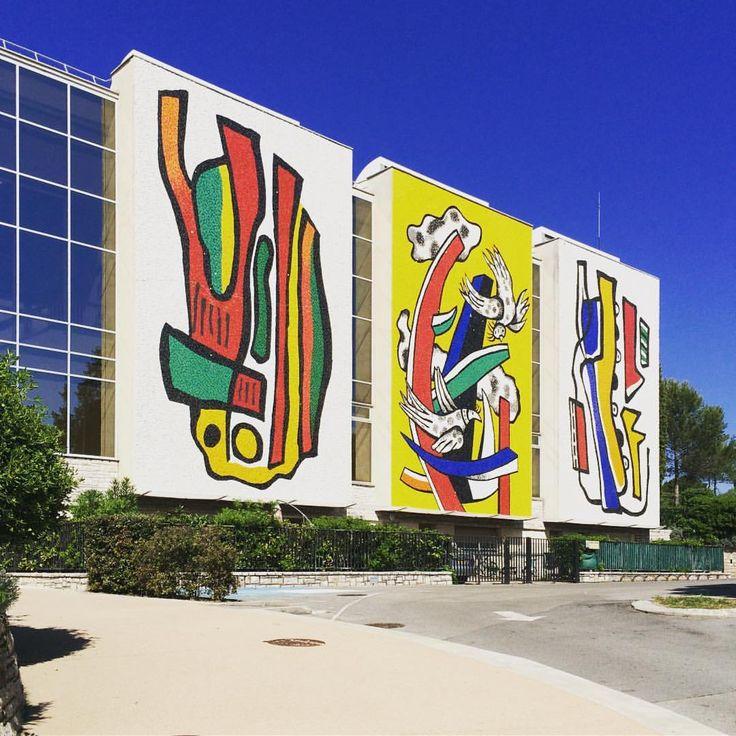 Musée national Fernand Léger, Biot (France) #modernarchitecture #art (à Biot, Antibes)