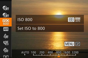 Canon Knowledge Center - Setting ISO speed (PowerShot SX60 HS)