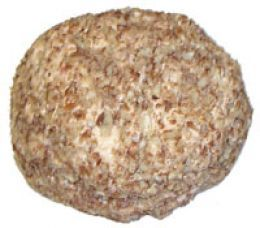 Christmas Cheese Ball with flaked ham. Add bag of shredded cheese Worcestershire sauce.  No walnuts, use green onions