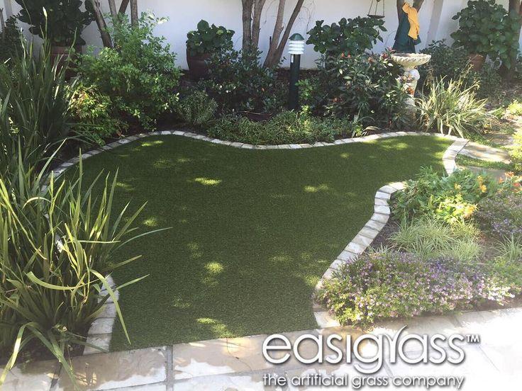 Even the smallest gardens #easigrass #syntheticgrass #helderberg #waterwise #waterwisegardening