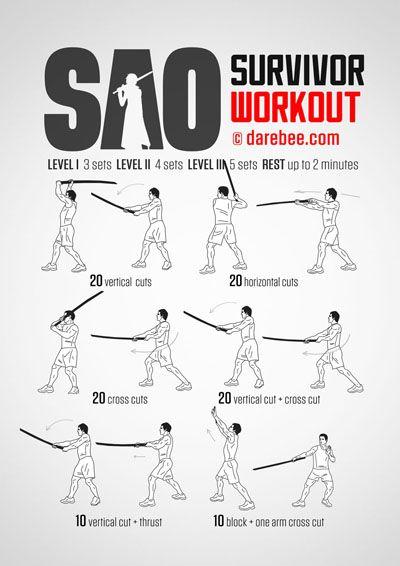 SAO Survivor Workout