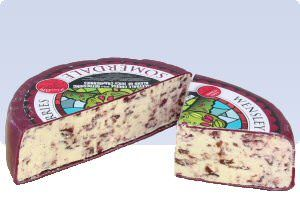 Wensleydale with cranberries...this is fantastic cheese!