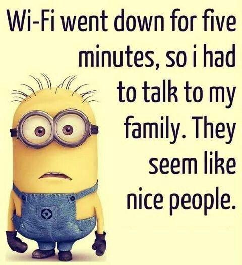 Minions #02 Wi-Fi by Tom Allmon