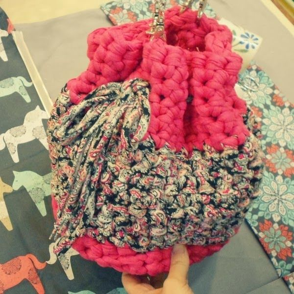 Patrones con trapillo (40): bolso saco base redonda y bolso Masa