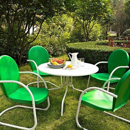 Griffith Retro Metal Patio Furniture