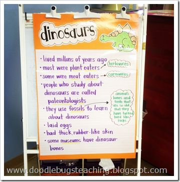 This blog has tons of dinosaur ideas!