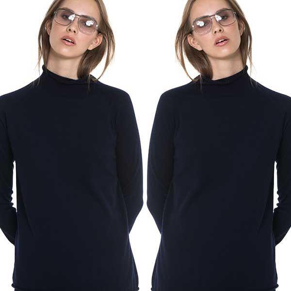 Double trouble! Nera Turtleneck in a cashmere silk blend👌🏻#aw16 #epiloguebyevaemanuelsen #shoponline