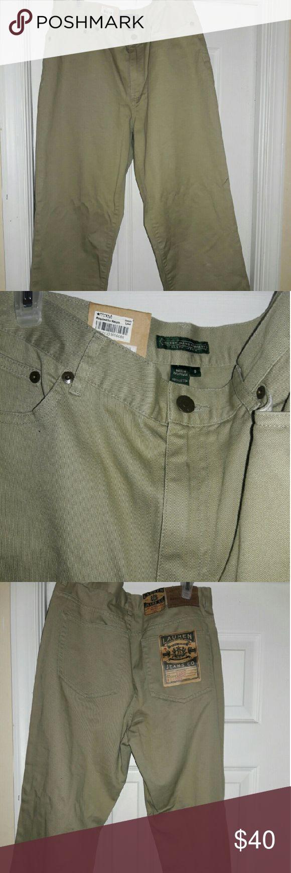 Polo ralph Lauren womens chino pants Brand new khaki womand Ralph Lauren chino Capri  pants Ralph Lauren Pants Capris