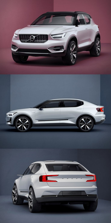 Volvo 40 Series Concept Cars