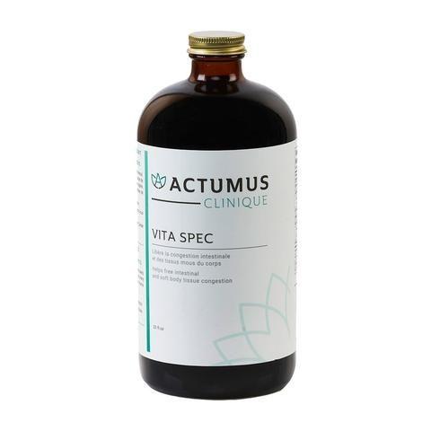 Solvant et émulsifiant, VITA SPEC libère la congestion dans l'intestin et dans les tissus mous....