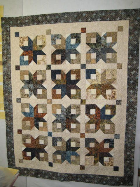 Boxy Stars Jelly Roll Quilt...another for Ombre fabrics!