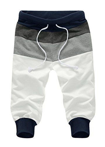 Minibee Men's Casual Harem Shorts Jogger 3/4 Pant Two Side Pockets (S, Navy Blue) Minibee http://www.amazon.com/dp/B019Z818FS/ref=cm_sw_r_pi_dp_EQ6Gwb1DKMSRB
