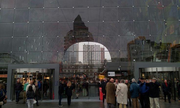 Markt hal Rotterdam.