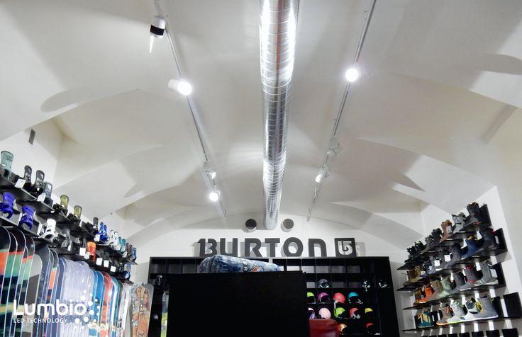 LED Track lights Lumbio for Burton shop