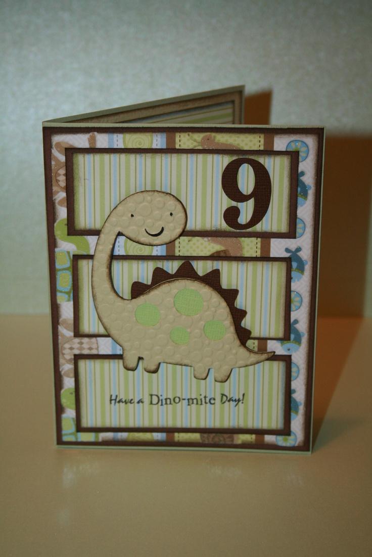 Best CardsJust For Boys Images On Pinterest Masculine Cards - Handmade childrens birthday cards
