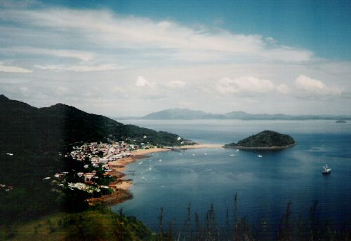 """Taboga Island, Panama.  Just a short ferry ride from the canal.  We took many """"mini-vacations"""" there."""
