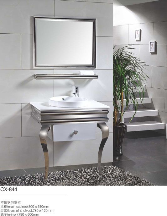 143 best modern stainless steel bathroom cabinet images on ...