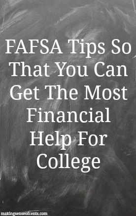Do you know what FAFSA is? If you are in college or about to enter college, I hope you do! FAFSA is the Free Application for Federal Student Aid. It is a form that is filled out by college students or those who are about to enter college to see if they qualify for any …