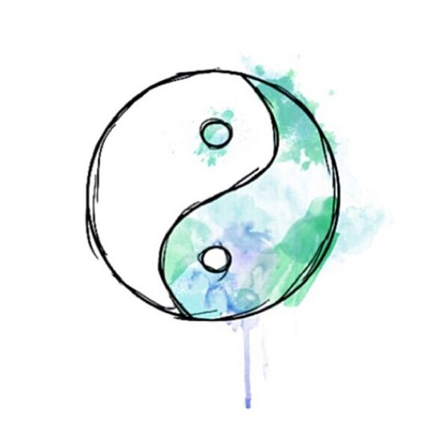 Tumblrtransparents - cooler ying yang