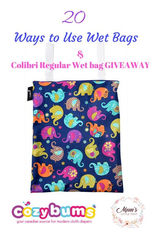 20 Ways to use Wet Bags