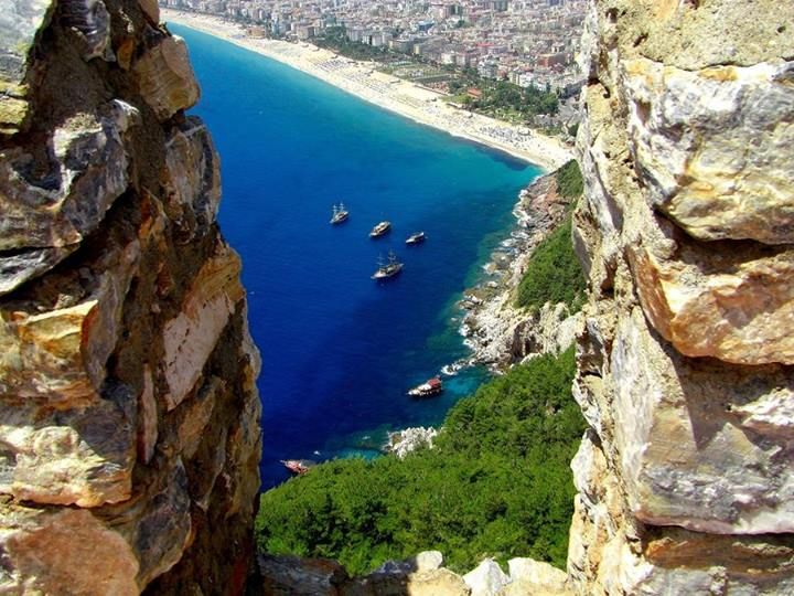 Alanya Castle, Antalya, Mediterranean Region