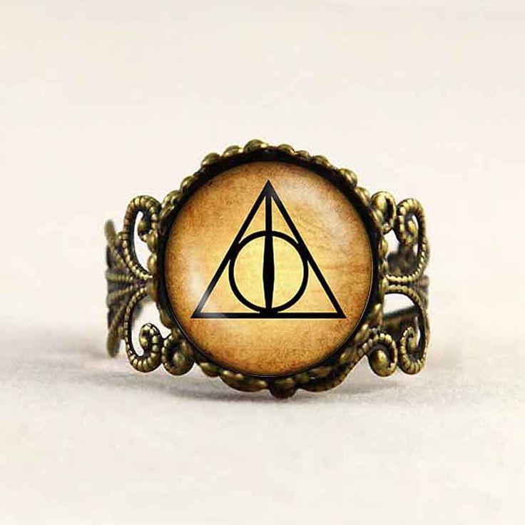 Harry Potter Inspired Rings