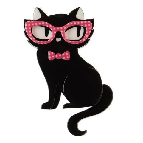 Erstwilder - Elissa the Indie Cat Brooch - 1