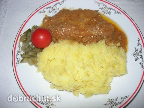 Fotorecept: Bravčové mäso na horčici