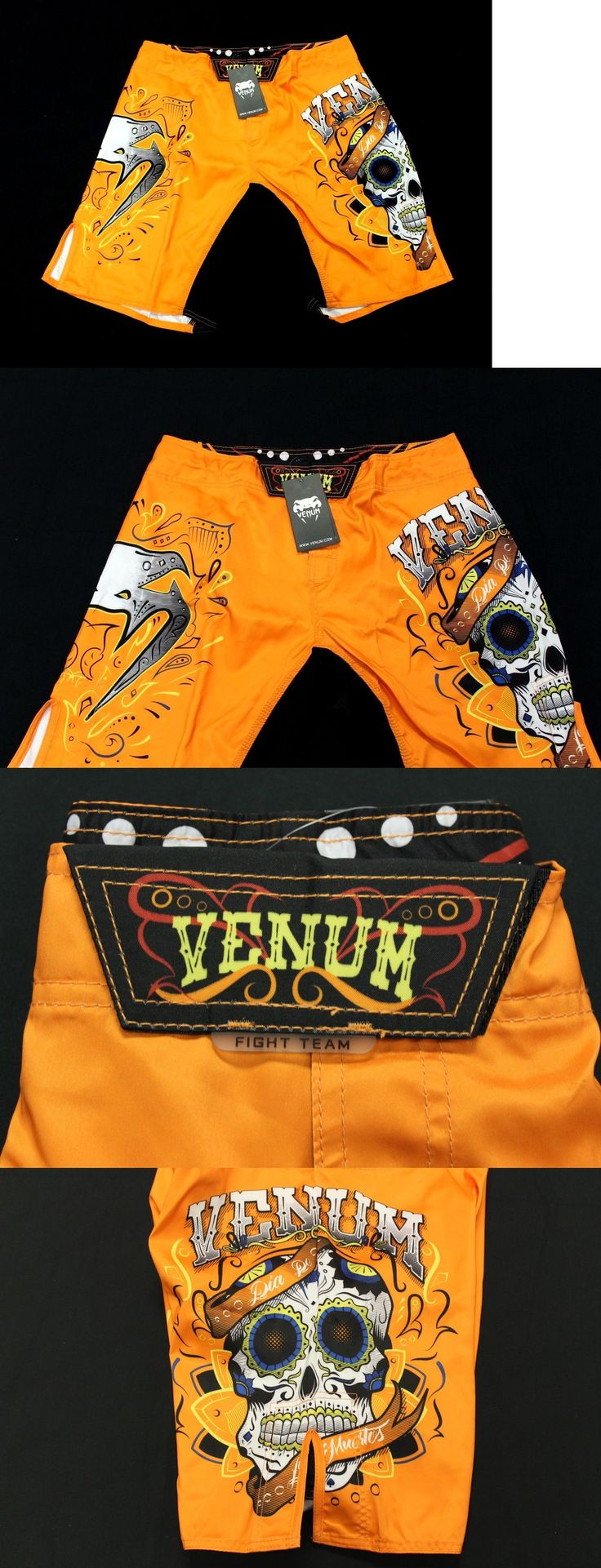 Other Combat Sport Clothing 73988: Venum Men S Santa Muerte 2.0 Fight Shorts Orange Gg8 Size Large Nwt -> BUY IT NOW ONLY: $54.99 on eBay!