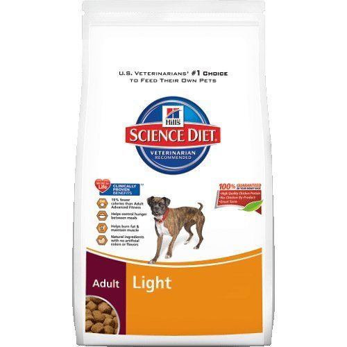 Hill's Science Diet Adult Light Dry Dog Food Bag, 33-Pound Hill's Pet Nutrition,http://www.amazon.com/dp/B009B87O9W/ref=cm_sw_r_pi_dp_qQPUsb1378T6QRPP