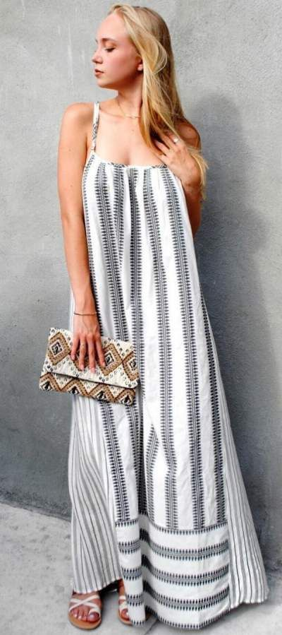 3175eb46a00  blackandwhite maxi dress perfect for summer  maxidress  summerdresses   summerstyle