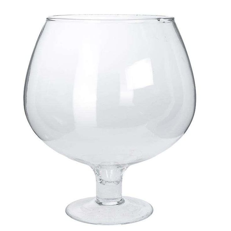 GLASS BOWL IN CLEAR COLOR 25Χ25Χ30 - Glass - Lacquer - Wooden - Vases - Bowls - DECORATIONS