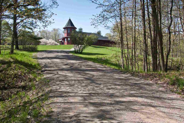 Hiking, biking and cross country skiing trails.