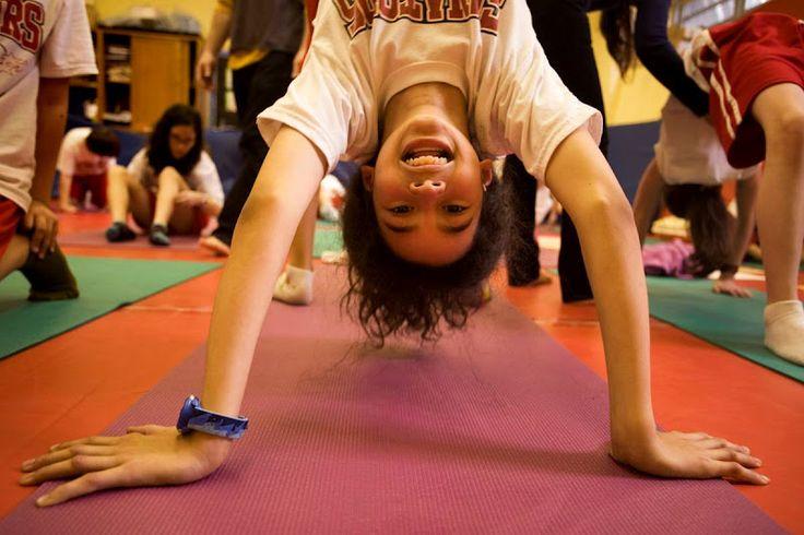 8 manieren om yoga met kinderen te delen
