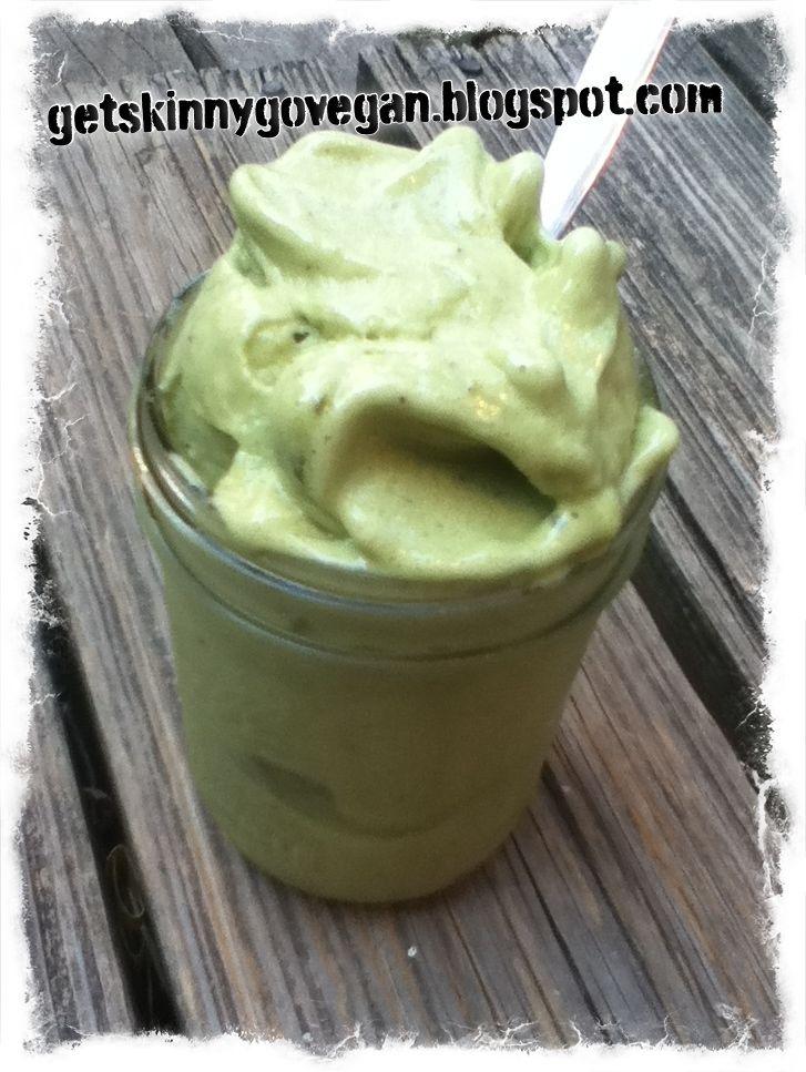 Get Skinny, Go Vegan.: Raw Vegan Matcha (Green Tea) Ice Cream. Michelle Pfeiffer talks to Sanjay Gupta about Going Vegan & Cholesterol going down 80 points!