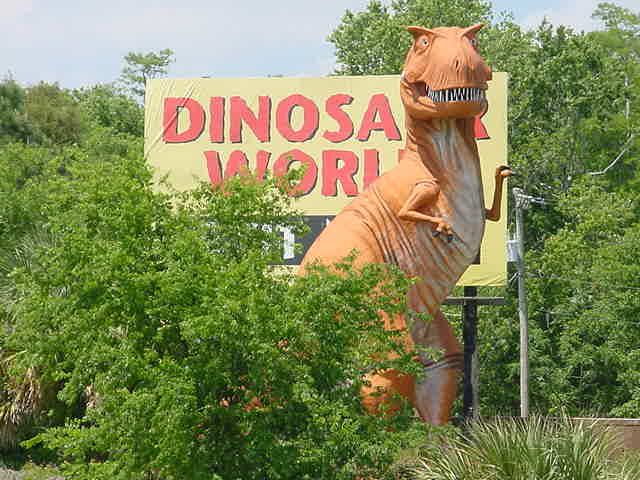 Dinosaur World in Plant City, FL  2011