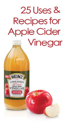 25 Uses for Apple Cider Vinegar @Julie Forrest Forrest 'Lemin' Heinz Vinegar sponsored #heinzvinegar