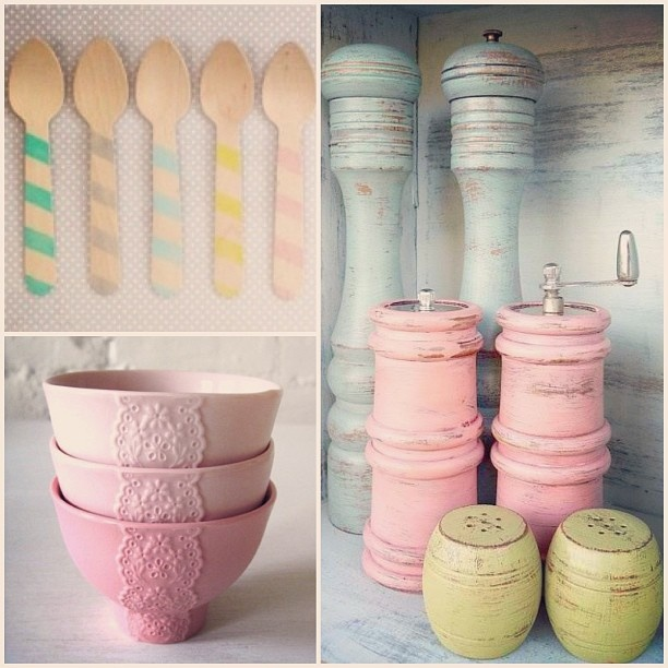 1000+ Images About Pink And Aqua Kitchen On Pinterest