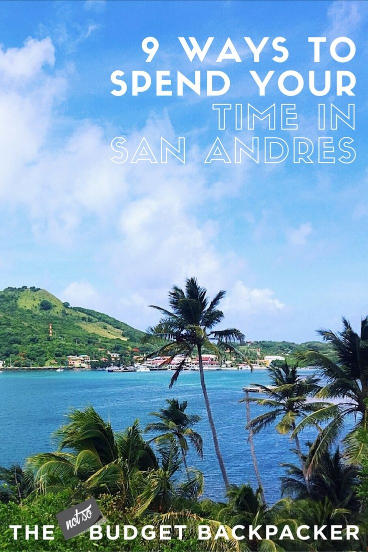 With total Caribbean vibes, excellent beaches and super friendly locals here are all the things to do in San Andres Colombia... // Isla San Andres Colombia / Places to visit in Colombia / Top things to do in San Andres / Things to do in San Andres Island / What to do in San Andres / San Andres Island Colombia / Things to do in Colombia /