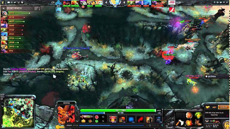 Cloud9 Victory Vs LGD-Gaming